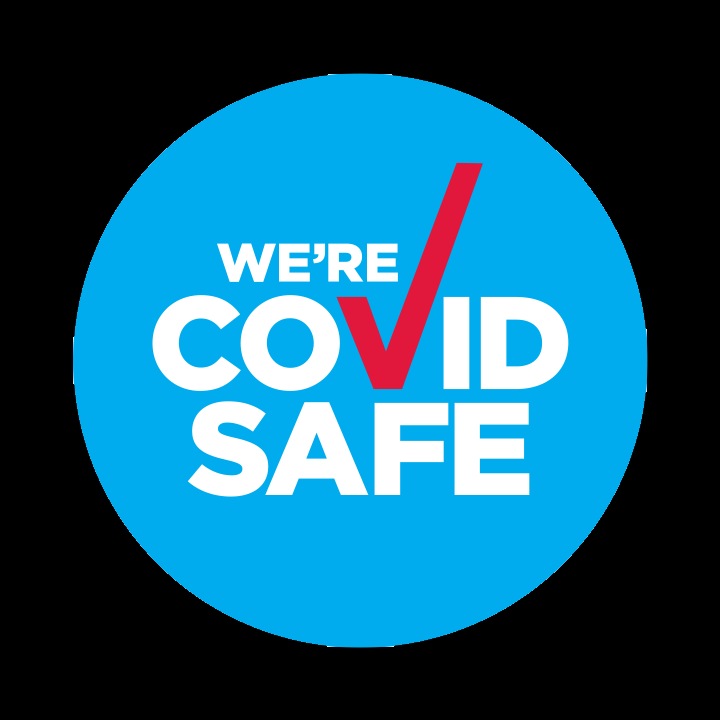 We're covid safe NSW Health badge
